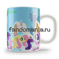 "Кружка ""My Little Pony. Happy Hollidays"" - фото 6144"