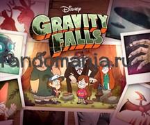 """Коврик для мыши """"Gravity Falls"""" (Гравити Фолз)"""