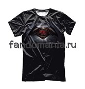 "Футболка ""Бэтмен против Супермена"""