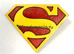 "Брошка ""Superman"" DC"