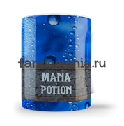 """Кружка """"Зелье Маны"""" (Mana Potion. Варкрафт.)"""