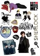 """Набор стикеров """"Шерлок"""""""