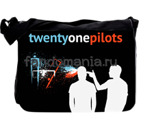 "Сумка с клапаном большая ""Twenty One Pilots"""