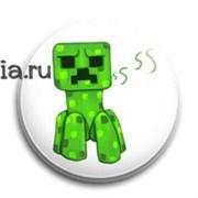 """Значок """"Minecraft"""" (Майнкрафт)"""