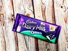 """Шоколад """"Cadbury"""" мятный орео"""
