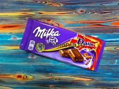 """Шоколад """"Milka-Daim"""""""