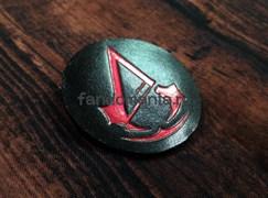 """Кожаный значок """"Assassin"""" (Assassin's Creed)"""