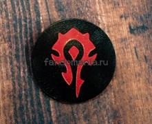 """Кожаный значок """"Орда"""" (World of WarCraft)"""