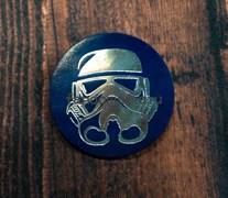 """Кожаный значок """"Штурмовик"""" (Звёздные воины)"""