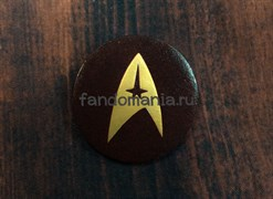 """Кожаный значок """"Star Trek"""""""