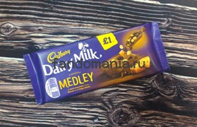 "Шоколад ""Cadbury Medley of dark chocolate chips, biscuit and fudge pieces"""