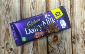 "Шоколад ""Cadbury Daim"""