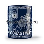 """Кружка """"Procrastinate"""" (Доктор Кто)"""