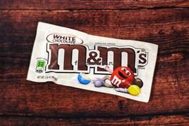 Конфеты M&M's белый шоколад