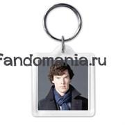 """Брелок """"I belive in Sherlock"""""""