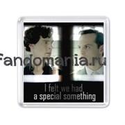 """Магнит """"Special something"""" (Шерлок)"""