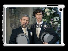 """Чехол для iPad """"Шерлок и Джон. Свадьба Джона"""" (Шерлок)"""