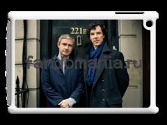 "Чехол для iPad ""Шерлок и Джон"" (Шерлок)"