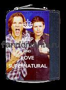 """Кошелек """"Keep calm and love Supernatural"""" (Сверхъестественное)"""