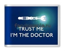 """Обложка на студенческий билет """"Trust me..."""" (Доктор Кто)"""
