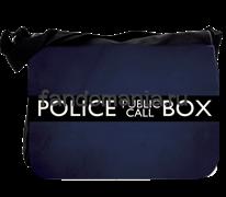 """Сумка с клапаном большая """"Police Box"""" (Доктор Кто)"""