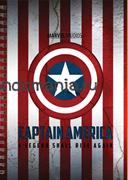 "Блокнот ""Капитан Америка"" Marvel"