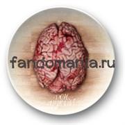 """Тарелка """"Bon Appetit... Мозг"""" (Ганнибал)"""