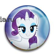 """Значок """"Рарити"""" (My Little Pony)"""