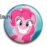 """Значок """"Пинки Пай"""" (My Little Pony)"""