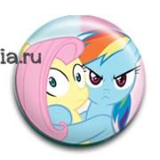 """Значок """"Дружба это чудо"""" (My Little Pony)"""