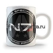 """Кружка """"N7"""" (Mass Effect)"""