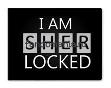 """Обложка на студенческий билет виниловая """"Sherlocked"""" (Шерлок)"""