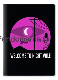 "Обложка на паспорт виниловая ""Night Vale"" (Найт Вейл) - фото 10252"