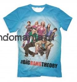 "Футболка ""The Big Bang Theory"" (Теория Большого Взрыва) - фото 10668"