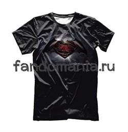 "Футболка ""Бэтмен против Супермена"" - фото 10670"