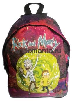 """Рюкзак """"Рик и Морти""""  (Rick and Morty) - фото 10784"""