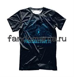"Футболка ""Procrastinate"" (Доктор Кто) - фото 10841"