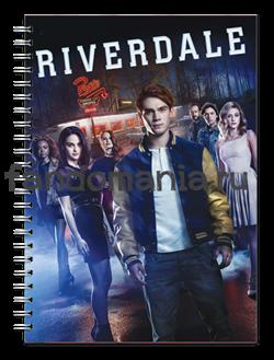 """Блокнот """"Ривердейл """" (Riverdale) - фото 13890"""