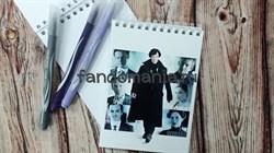 """Блокнот """"Шерлок и герои"""" - фото 14498"""