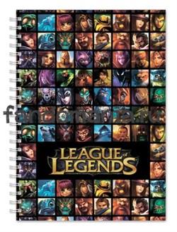"""Блокнот """"League Legends"""" (Лига легенд) - фото 15459"""
