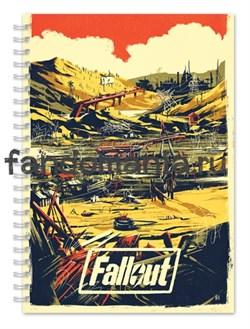 """Блокнот """"Fallout""""  - фото 15471"""