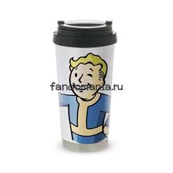 """Термокружка стальная """"Vault Boy"""" (Fallout) - фото 15902"""