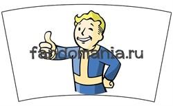 """Термокружка стальная """"Vault Boy"""" (Fallout) - фото 15903"""