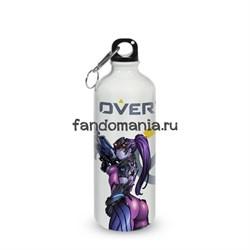 """Бутылка спортивная """"Трейсер и Вдова"""" (Overwatch) - фото 16006"""
