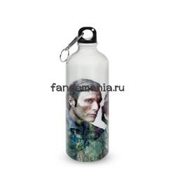 """Бутылка спортивная """"Ганнибал и Уилл"""" (Ганнибал) - фото 16018"""