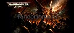 "Большая черная кружка ""Вархаммер 40000"" (Warhammer 40K) - фото 17046"