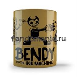 """Кружка """"Бенди и чернильная машина"""" (Bendy and the Ink Machine) - фото 18987"""