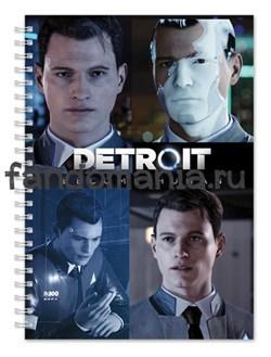 """Блокнот """"Detroit: become human"""" (Детройт: Стать человеком) - фото 19872"""