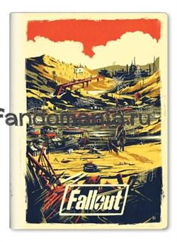 """Обложка на паспорт виниловая """"Fallout"""" - фото 20664"""
