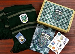 """Фандомный бокс """"Слизерин"""" подарочный набор (Гарри Поттер) - фото 22186"""